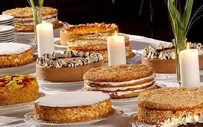 Kuchen-Verschiedene Sorten
